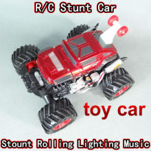 free shipping RC radio remote control stunt dancing car cars truck hummer special children toys FSWB