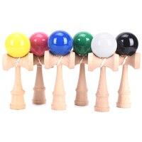 20 см деревянные игрушки спортивная игрушка для игр на открытом воздухе шар Kendama PU краски струны профессиональные взрослые игрушки для спорт...