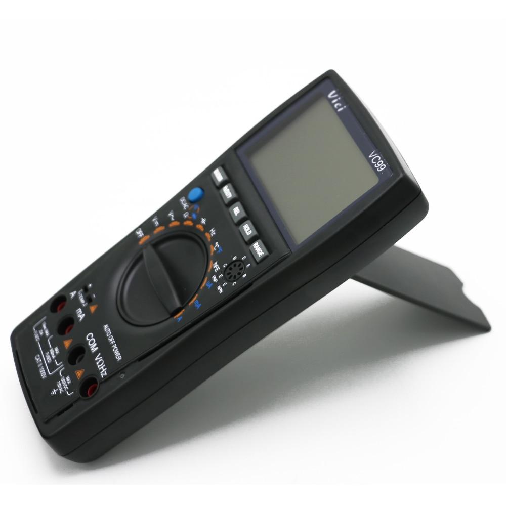 """""""Vici VC99 Auto Range 3"""" 6/7 skaitmeninis multimetras 20A - Matavimo prietaisai - Nuotrauka 5"""