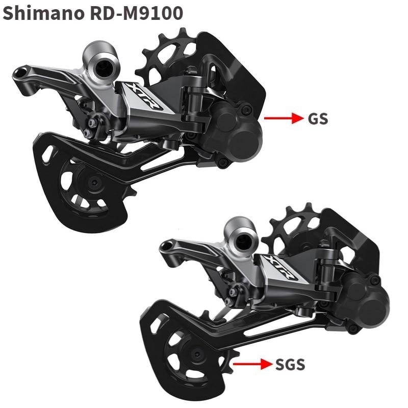 Dérailleur arrière SHIMANO XTR RD M9100 Shadow + GS/SGS dérailleurs de vélo vtt 12 vitesses