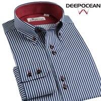 New Fashion Mens Shirt Cotton Shirt Dress Business Shirts Men Casual Shirt Camisa De Hombre