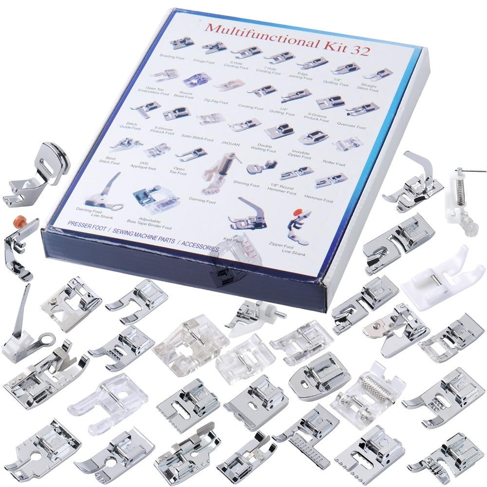 5 Pcs New Type Thumb Screw for Sewing Machine Presser Foot Feet Binder Mounting