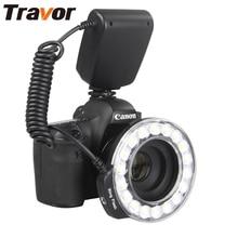 Travor 18 шт. светодиодный макро-кольцевой светильник RF-600D для Canon Nikon Panasonic Pentax Olympus DSLR камеры