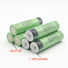 18650 3400mAh battery 3.7V Li-ion Rechargebale battery NO PCB Protected 18650 Rechargeable Battery NCR18650B with Pointed   MA12