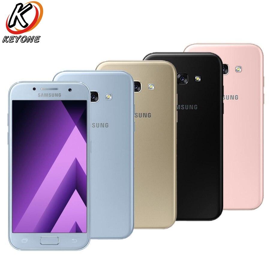 New Samsung Galaxy A5 2017 A520FD Mobile phone 5 2 3GB RAM 32GB ROM Octa Core