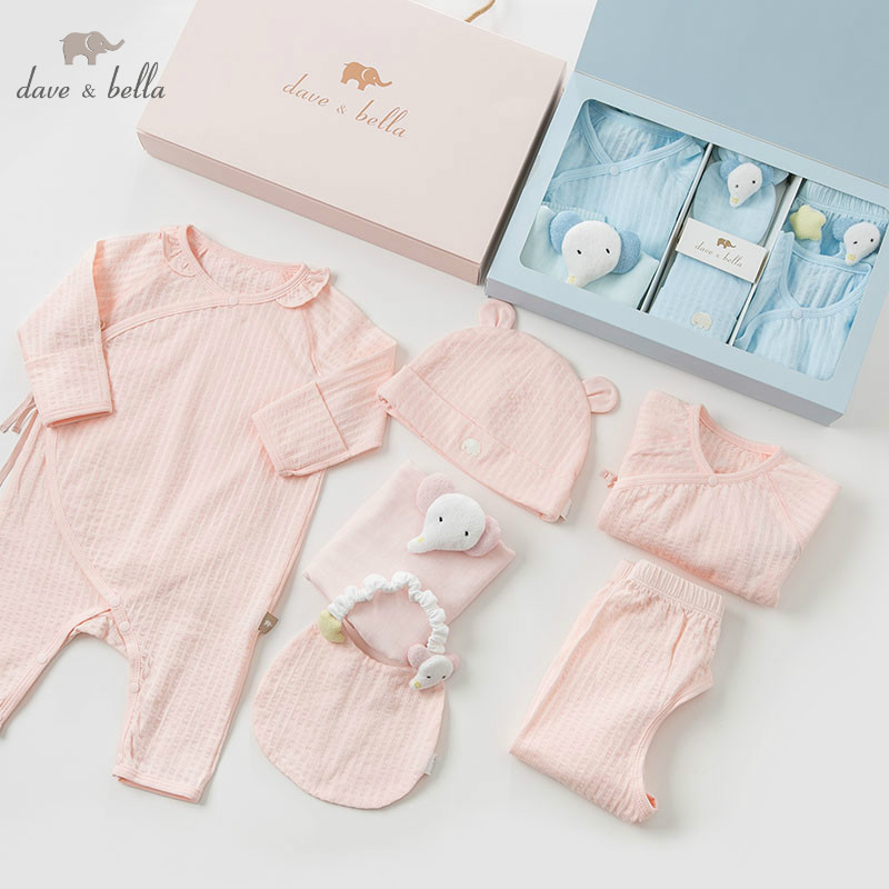 Image 2 - DBH9992 dave bella spring autumn newborn boys girls rompers 