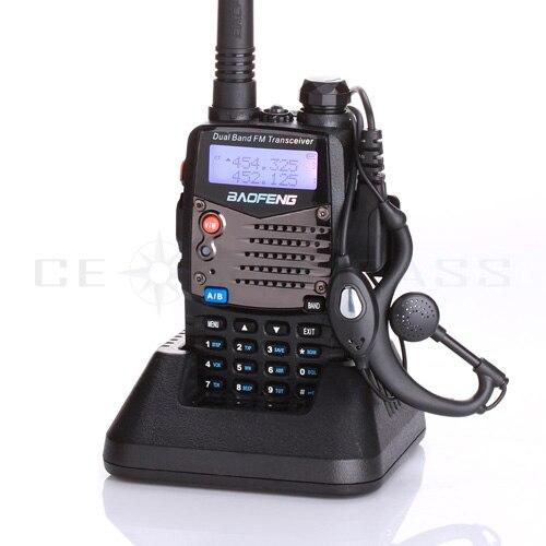 Baofeng UV-5RA Talkie Walkie Scanner Radio Double Bande Cb Ham Radio Émetteur-Récepteur UHF 400-520 MHz et VHF 136-174 MHz