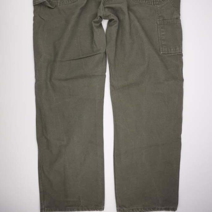Dickies Trabajo De Carpintero Pantalones Oliva Lona De Pato Para X 32x44 Pantalones Vaqueros Aliexpress