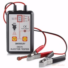 Best Fuel Pressure Tester with 4 Pulse Modes All Sun EM276 Automotive Pump System Injector Tester Analyzer Fuel Injector Tester