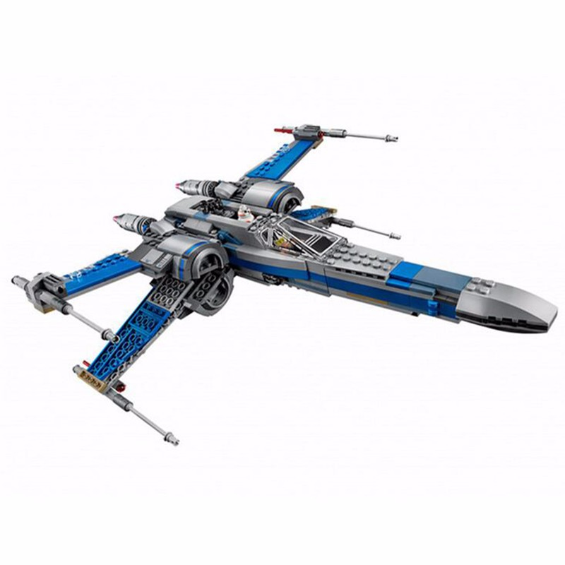05004 войны серии первый заказ POE X-wing Fighter и Сокол Тысячелетия модель строительные блоки кирпичи игрушки Лепин подарок детский комплект для ма...
