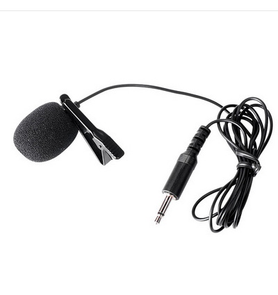 Hot sale Free shipping Wholesale Takstar tcm-340 lavalier microphone clip mic good quality