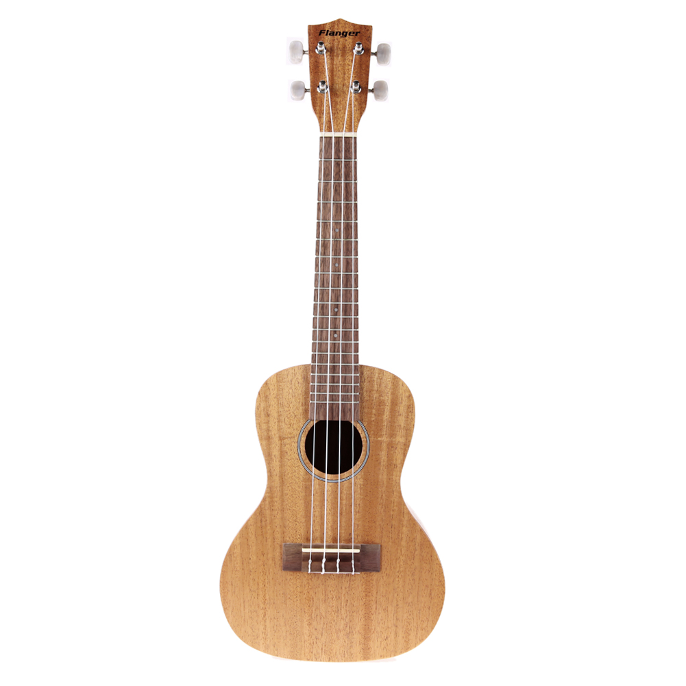Acoustic Electric Concert Board Ukulele 23 Inch Mahogany Mini Guitar Italian Aqulia 4 Strings Ukelele and Ukulele Bag concert acoustic electric ukulele 23 inch high quality guitar 4 strings ukelele guitarra handcraft wood zebra plug in uke tuner