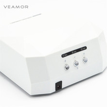 36W Nail Dryer 6 Color Diamond Shaped UV Lamp LED Lamp Nail Lamp LED & CCFL Curing for UV Gel Nails Polish Nail Art Tools