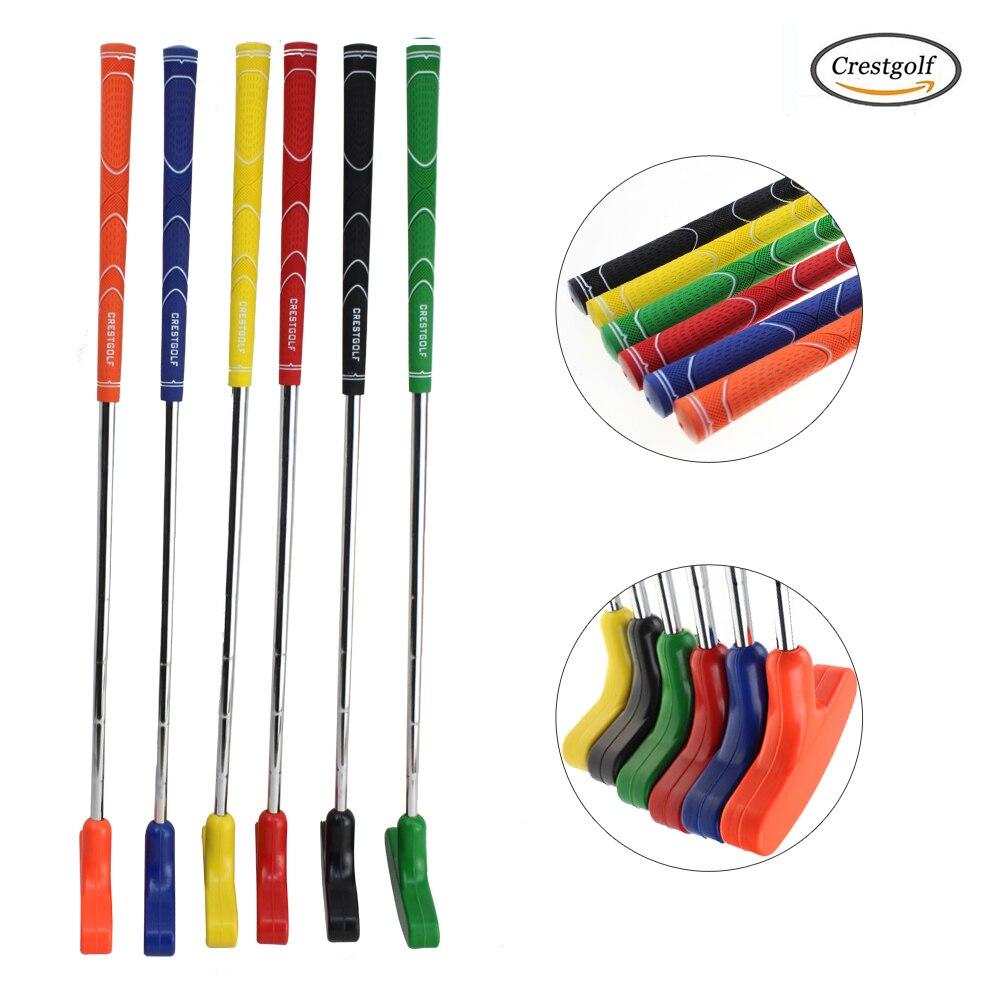 Crestgolf Custom Size For Mini Golf Putters Mans For Golf Practice Clubs With Rubber Putter Head & Steel Shaft Clubs De Golf
