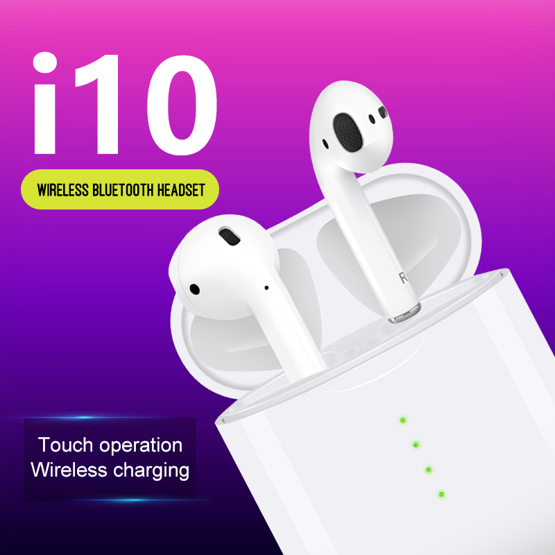 $39.00 2019 New i10 tws Bluetooth Earphone Earbuds Wireless Touch Control & 3D Stereo i10tws for iphone X XR XS Max For samsung S10 E