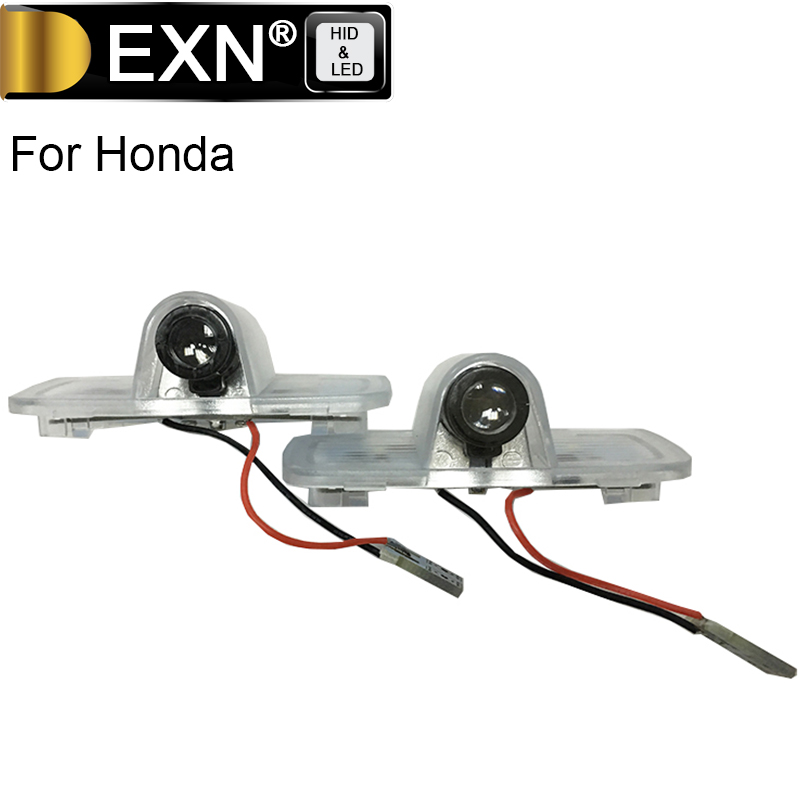 A Pair LED Car Welcome Door Courtesy Laser Projector Logo Ghost Shadow Light For Honda Accord