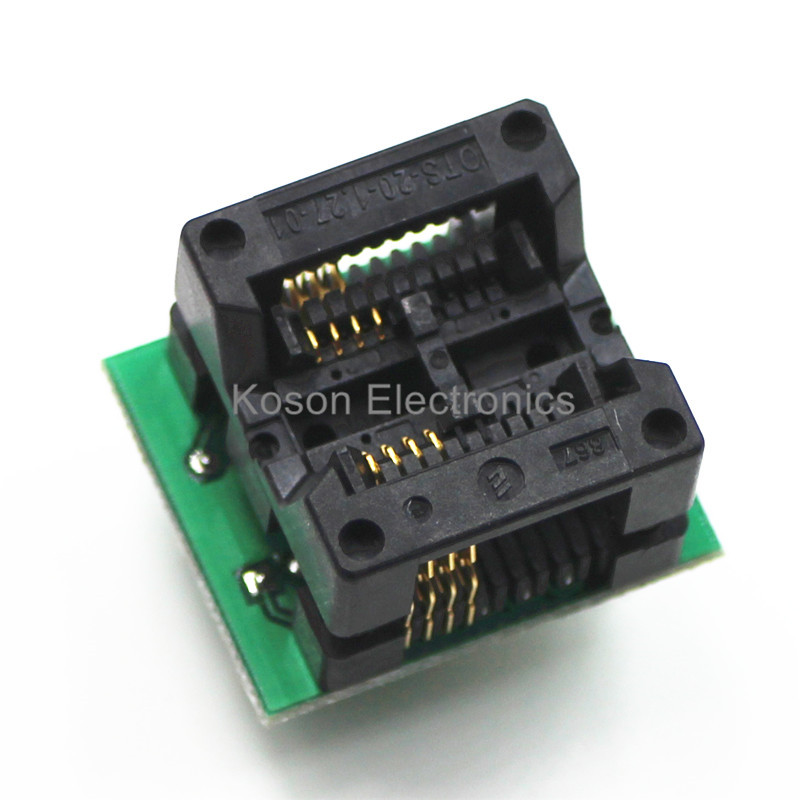Universal Adapter Sockets SOP8 SOP 8 to DIP8 DIP 8 for all Programmer 200 208 mil lf353m sop 8