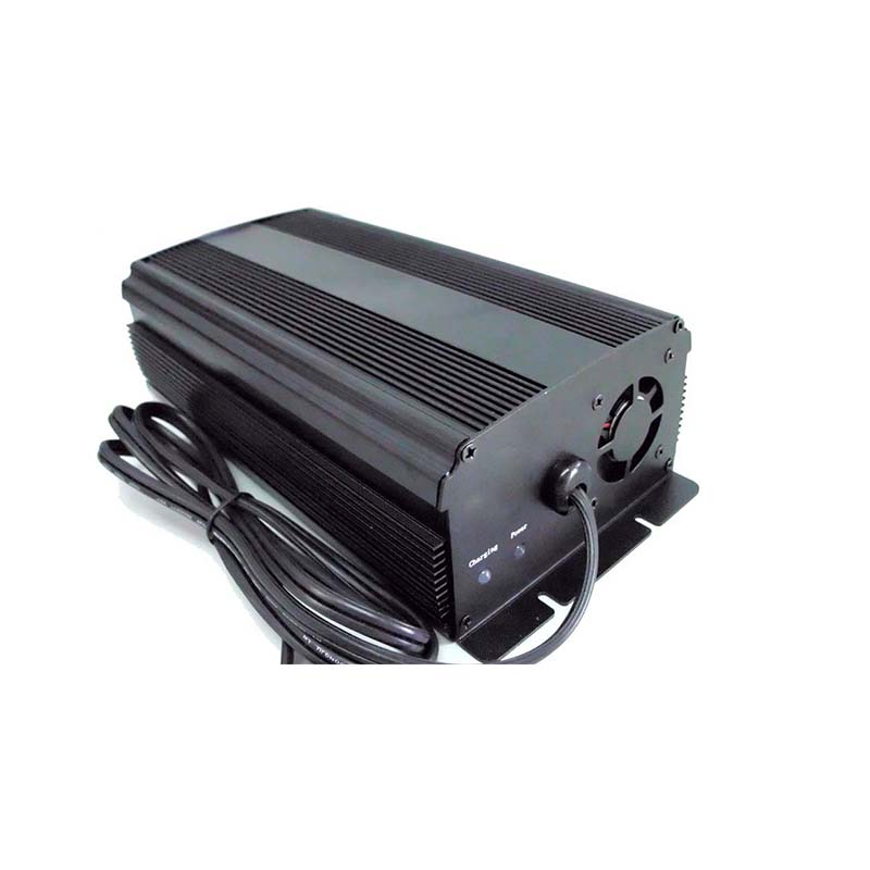 500W 48V 8A intelligent lead acid battery charger with MCU control for 48V golf cart battery