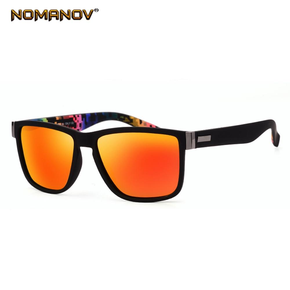 Classic Outdoor Sports Colorful Short Sight Sun Glasses Polarized Sunglasses Custom Made Myopia Minus Prescription Lens -1 To -6