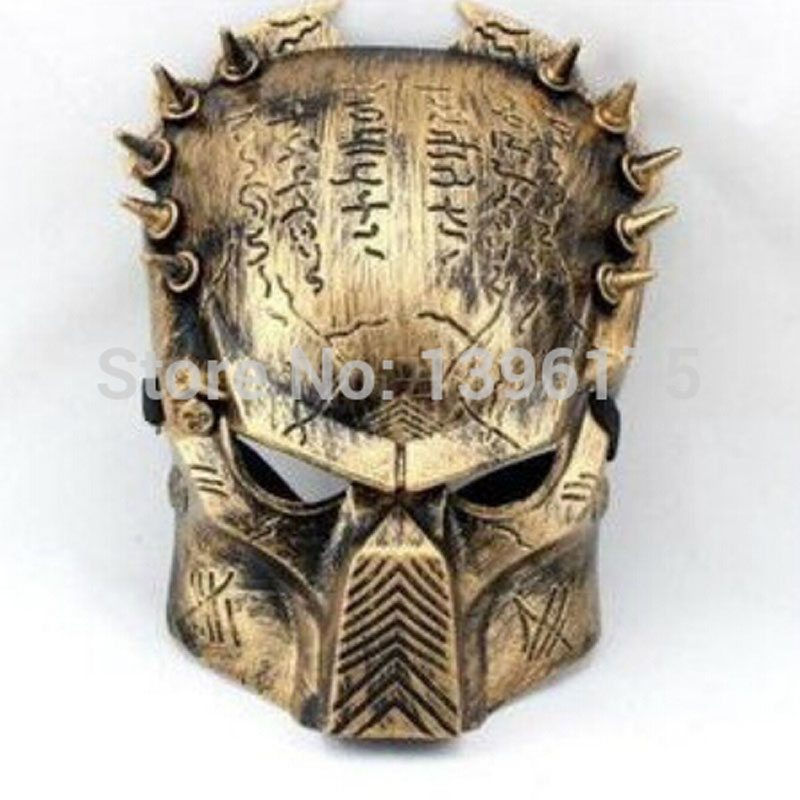 2 pcs/lot party accessories Iron Man Style Predator Mask PVC Cospaly Halloween event supplies - Whale Online Store store
