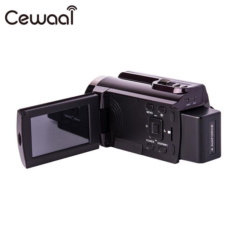 Caméscope numérique FULL HD 4 K 24MP 3''LCD Zoom numérique 16X ZOOM DV FULL HD 4 K 24MP 3''LCD caméra numérique HD