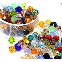 DIY Jewelry Making Crystal Beads 750 pcs/bag 4mm Bicone Austria Crystal Beads charm Glass Bead jewelry(China)