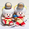 2pcs/lot 2017 Captain Toad Treasure Tracker Super Mario Toda Plush Doll Toys With Tag 19~22cm Free Shipping