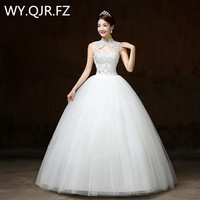 Summer Wedding Dresses 2016 New Korean Contracted The Bride Show Thin Collar Chinese S Shoulders H60