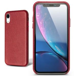 Image 5 - QIALINO Ultra דק לכסות עבור Appole iPhone XR יוקרה בעבודת יד Slim טלפון מקרה עבור iPhone XR 6.1 inches