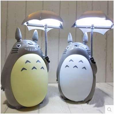 hot sale kawaii My Neighbor Totoro lamp led night light ABS Reading Table Desk  Lamps for kids Gift Home Decor novelty lightings - Portable Luminaire Desk Lamp Promotion-Shop For Promotional