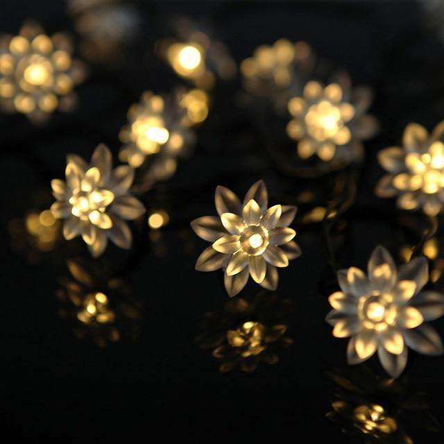 String Lantern Lights Nz : Aliexpress.com : Buy White/Warm White/RGB Christmas Garden Outdoor Garland Fairy Lights Solar ...