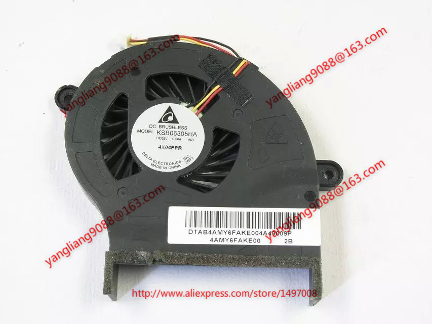 Free Shipping For SUNON KSB06305HA, A01 DC 5V 0.50A 3-wire 3-pin connector 90mm Server CPU Cooling fan free shipping for sunon eg50040v1 c06c s9a dc 5v 2 00w 8 wire 8 pin server laptop fan