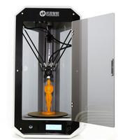U&Z 245 desktop 3D printer Delta Triangle printer assemble mahcine
