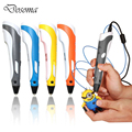 Creative 3D Printing Pen Children Stereo Printer Pens Graffiti Brushes Intelligence Drawing 3D Pen With ABS Filament Kids Gift