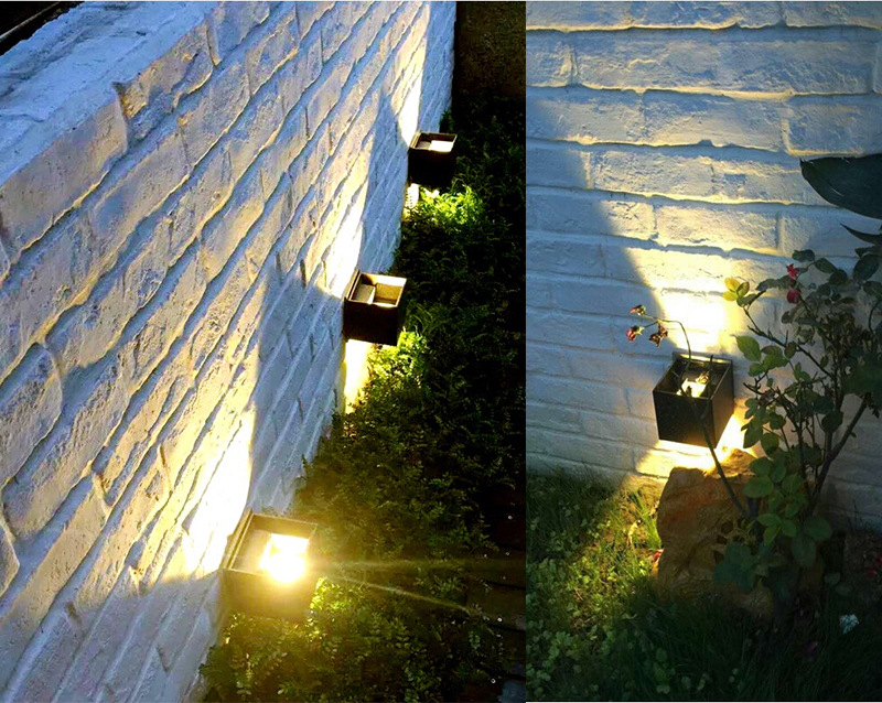Moderne Lampen 51 : Im freien wasserdichte ip wand lampe moderne led wand licht