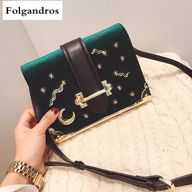 Luxury Brand Handbags Crossbody Bags for Woman Fashion Purse Clutch Velvet Shoulder Bag Famous Designer Women Handbag Sac A Main fashion chain casual shoulder bag messenger bag luxury handbag famous brand women designer crossbody bags lady clucth sac a main
