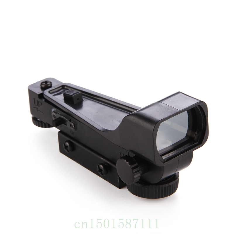 Gratis verzending Tactical Reflex zicht Red Dot Sight Scope Wide View - Jacht - Foto 3