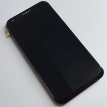 Prueba de la buena 4.7 pulgadas LCD display + Touch screen panel cristal Digitalizador Asamblea con Marco de reemplazo Para ASUS PadFone 2 A68