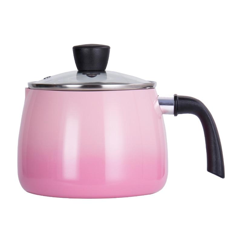 Pot de lait profond japonais anti-adhésif instantané nouilles pot bébé complément alimentaire pot nouilles pot à soupe cuisinière à gaz universel WF626254