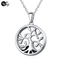 UNY Stainless Steel Memorial Pets Ashes Keepsake Pendant Unique Personalized Customized Family Trees Urn Cremation Pendants