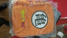 Anime Dragon Ball Z hombro Dragon Ball lona gruesa tendencia estudiantes mochila ordenador Goku naranja bolsa de lona 020501