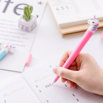 Creative Unicorn Flamingos Pen Cute 0.5mm Signature Pen
