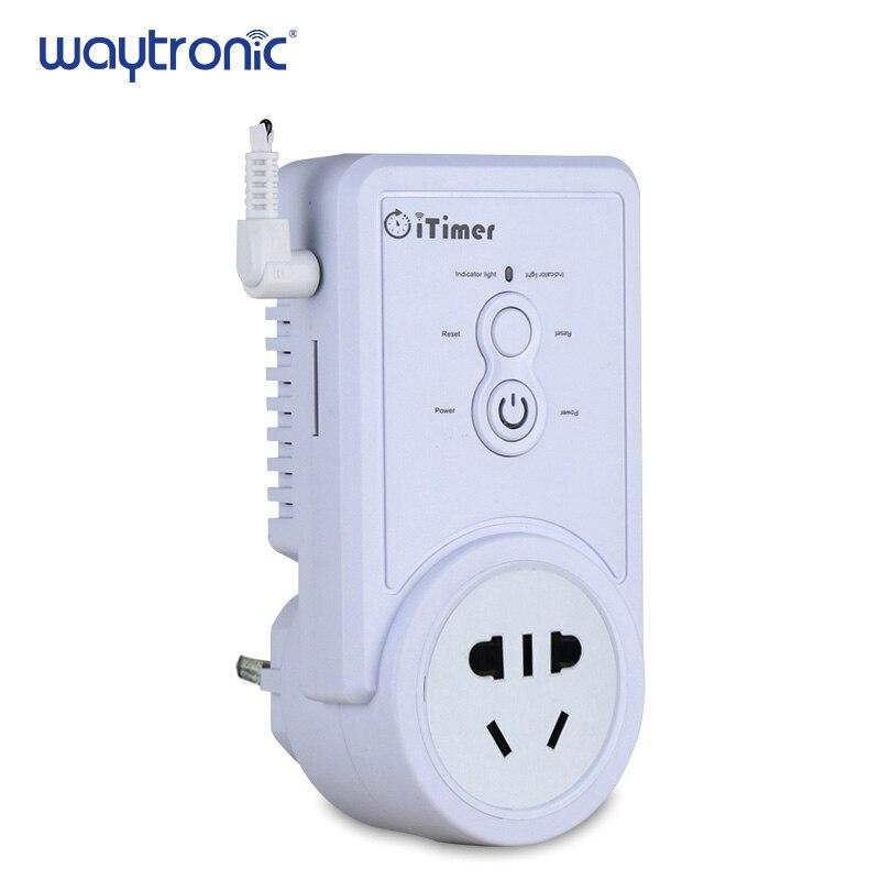 GSM Puissance Off Panne de courant D'alarme SMS Télécommande Interrupteur de la Prise D'alimentation avec Alerte Téléphonique Fonction D'interrogation de la Température