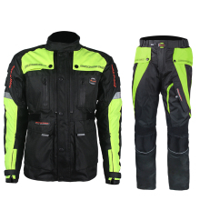 Riding Tribe Men Motorcycle Jacket Racing Clothing Set Windproof Waterproof Motorcycle Touring Travel Riding Jacket Pants Suit(China)