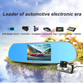 Hot Sale 5 inch Car DVR GPS Android Reverse image Rearview mirror Wifi HD 1080P Dual Lens Camera Video Monitor Tachograph