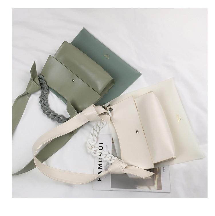 Excelsior bolsa de couro feminina crossbody sacos