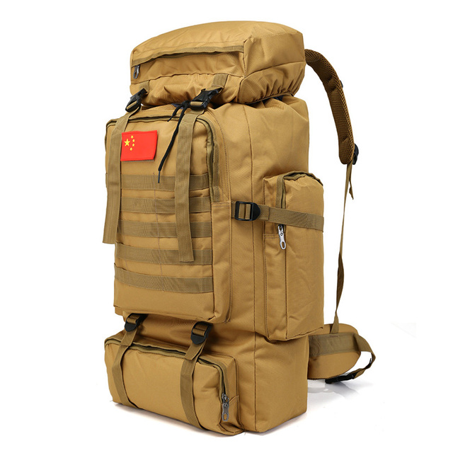 ALINCO 70L Large Capacity Military Camping  Backpack