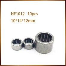 10 шт. HF1012 один способ cluth игольчатый роликовый подшипник 10x14x12 мм