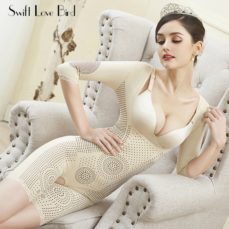 Body Shapewear Womens Full Anion Shaping Underwear Body Shape Clothes Corset Slimming Weight Loss Reductive Strip Woman