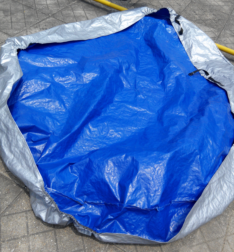 cusomise size for hot tub cover cap and cover sun shield,100% match ...